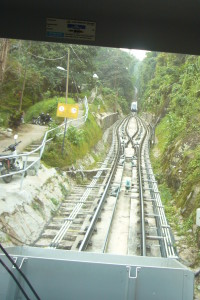 Funicular train at Penang Hill