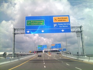 Road Sign @ KLIA 2