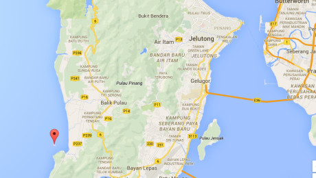 Pulau Betong Locates at South-West of Penang