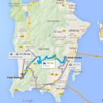 Route to Pulau Betong