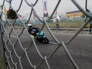 Motorist in Cub Prix Event